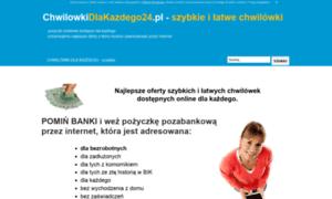 Chwilowkidlakazdego24.pl thumbnail