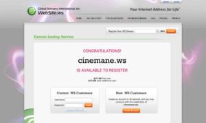 Cinemane.ws thumbnail