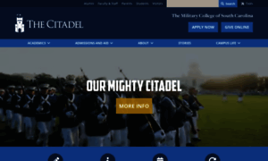 Citadel.edu thumbnail