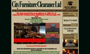 Cityfurnitureclearance.co.uk thumbnail