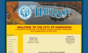 Cityofharrisonmi.org thumbnail