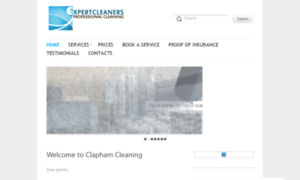 Claphamcleaning.co.uk thumbnail