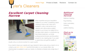 Cleancarpetsharrow.co.uk thumbnail