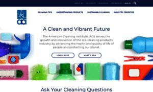 Cleaninginstitute.org thumbnail