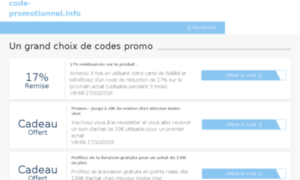 Code-promotionnel.info thumbnail