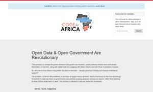 Codeforafrica.net thumbnail