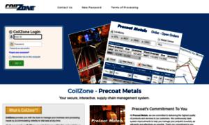 Coilzone.precoat.com thumbnail