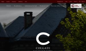 Colgate.edu thumbnail