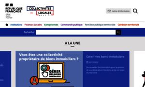 Collectivites-locales.gouv.fr thumbnail