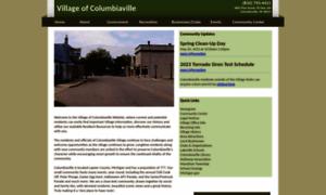 Columbiaville.org thumbnail