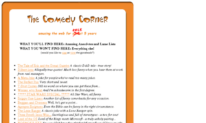 Comedycorner.org thumbnail