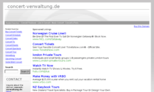 Concert-verwaltung.de thumbnail