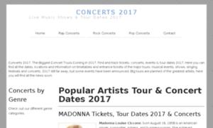 Concerts2017.net thumbnail