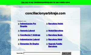 Conciliacionyarbitraje.com thumbnail