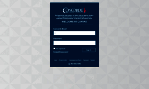 Concorde Instructure Concorde Instructure Com Log In