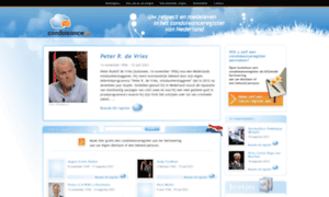 Condoleance.nl thumbnail