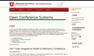 Conference.tools.lib.utah.edu thumbnail