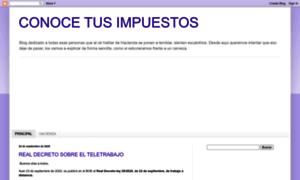 Conocetusimpuestos.blogspot.com.es thumbnail