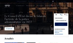 Conseil-etat.fr thumbnail