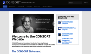 Consort-statement.org thumbnail