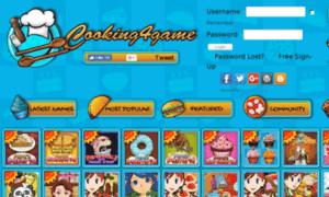 Cooking4game.com thumbnail