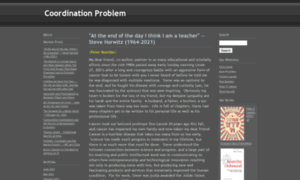 Coordinationproblem.org thumbnail
