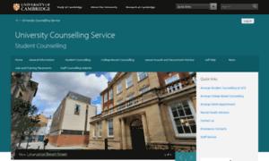 Counselling.cam.ac.uk thumbnail