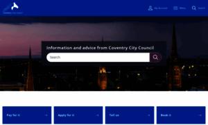 Coventry.gov.uk thumbnail