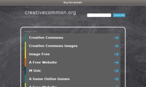 Creativecommon.org thumbnail