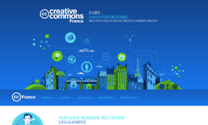 Creativecommons.fr thumbnail