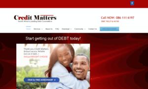 Creditmatters.co.za thumbnail