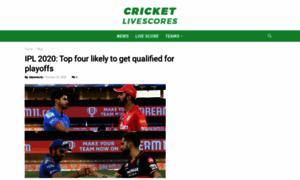 Cricketlivescores.in thumbnail