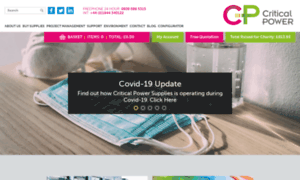 Criticalpowersupplies.co.uk thumbnail