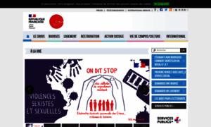 Crous-aix-marseille.fr thumbnail