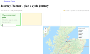 Cyclejourneyplanner.cyclingscotland.org thumbnail