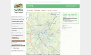 Cyclemap.placeford.org thumbnail
