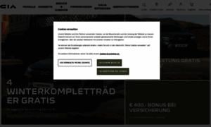 Dacia.at thumbnail