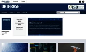 Database.oxfordjournals.org thumbnail