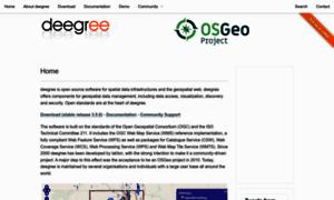 Deegree.org thumbnail