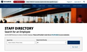 Directory.humber.ca thumbnail