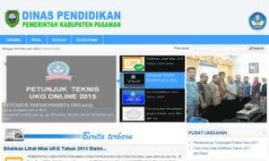 Disdik.pasamankab.go.id thumbnail