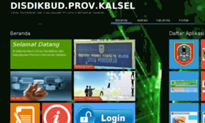 Disdikbud.kalselprov.go.id thumbnail