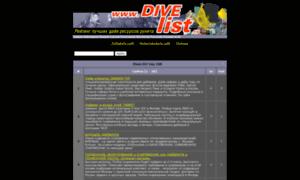 Divelist.ru thumbnail