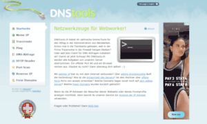 Dnstools.ch thumbnail