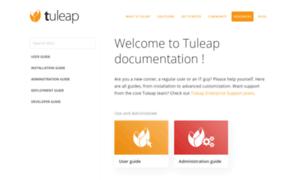 Doc-en.tuleap.net thumbnail