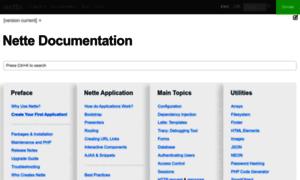 Doc.nette.org thumbnail