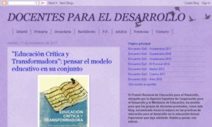 Docentesparaeldesarrollo.blogspot.com thumbnail