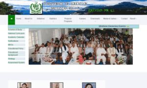 Doeb.edu.pk thumbnail
