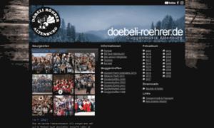 Doebeli-roehrer.de thumbnail
