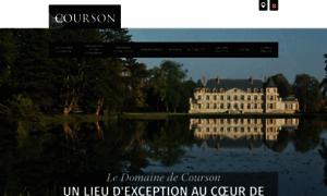 Domaine-de-courson.fr thumbnail